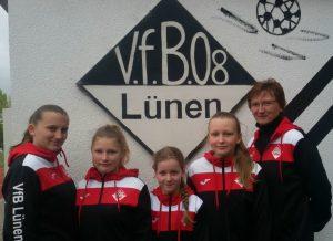 U12 Mädchen VfB08_Kreisauswahl